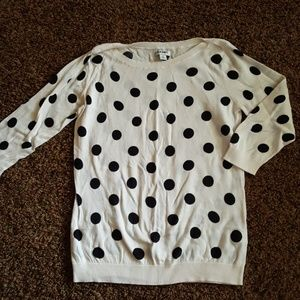 Polka Dot Quarter Sleeve